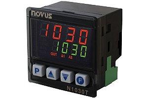 Controlador de Temperatura Novus N1030T-PR 100-240Vca