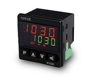 Controlador de Temperatura Novus N1030-PR 12-24Vcc 24Vca