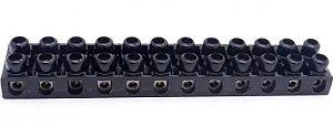 Conector Barra de 12 Bornes Sindal Pr 4 mm/2,5mm Cemar