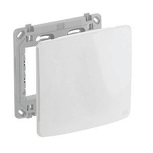 Placa 4x4 Cega Branca + Suporte Compose Weg