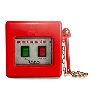 Acionador Manual de bomba de Incendio com Martelo Incluso