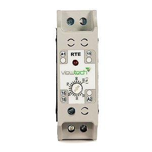 Rele Tempo TRE Retardo na Energização 0-60seg 220V View Tech