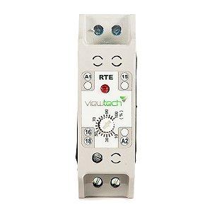 Rele Tempo TRE Retardo na Energização 0 - 6Min 220V View Tech