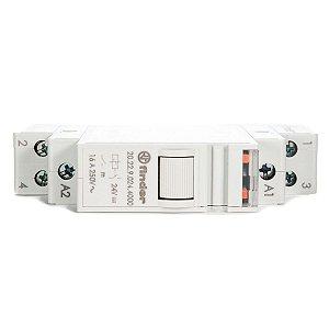 Rele de Impulso Modular Finder 24Vdc 2NA 16A