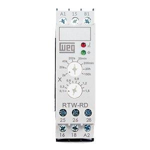 Relés Multi-Temporizadores Weg 2NAF 0,2s-150h 24-240Vca/Vcc