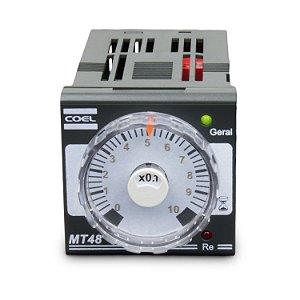 Temporizador Analógico 24Vca/Vcc EG SPDT 8A 250Vca  3,0 S/m