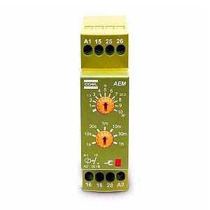 Rele de Tempo Eletrônico AEM Multi Escala Coel