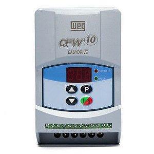 Inversor de Frequência Weg CFW10 Standard Mono 0,25cv 1,6A 127V