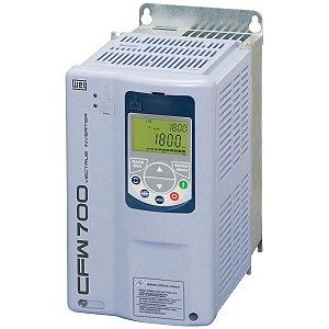 Inversor de Frequência Weg CFW700 Tri 10cv 28A 220V