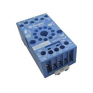 Base para Rele Trilho DIN 90.03.SMA 35mm Finder