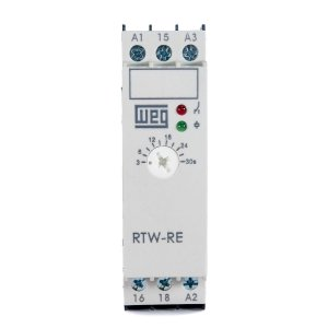 Rele Tempo Weg RTW RE Retardo na Energ. 3-30s 24Vac/Vdc