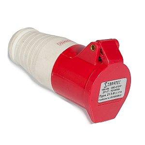 Tomada Industrial Pendente 213-9 16A 9H 380-415V 2P+T VM