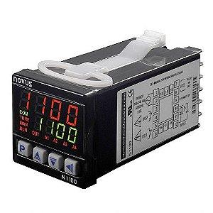 Controlador de Processos N1100 100-240Vca/vcc USB + 3 Relés Novus