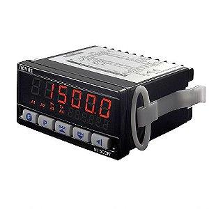 Indicador Microprocessado de Vazão N1500-FT 24Vcc/Vca Novus
