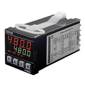 Controlador de Temperatura N480D-RRR USB Novus