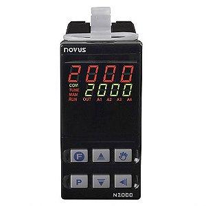 Controlador de Processos Universal N2000 USB com Rs485 Novus