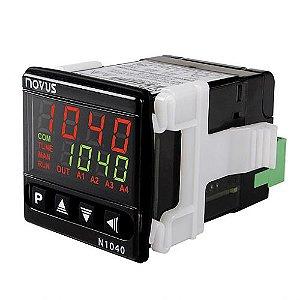Controlador de Temperatura N1040-PRRR USB 100-240V Novus