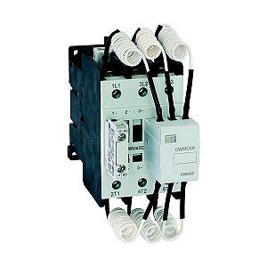 Contator Manobra de Capacitores CWMC80-10-30 1NA 24V Weg