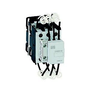 Contator Manobra de Capacitores Weg CWMC32-10-30 1NA 110-130Vcc