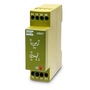 Rele Temporizador AEGTLFS Coel 24Vca/Vcc 30 seg.