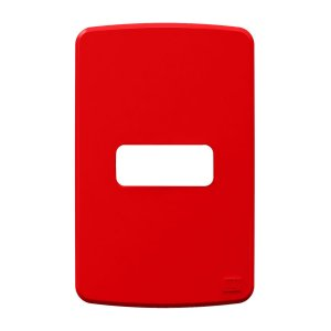Placa 4x2 1 Posiçao Vermelho Compose Weg