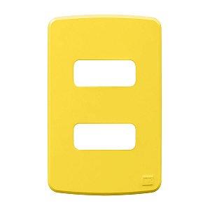 Placa 4x2 2 Posiçoes Amarelo Compose Weg