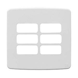 Placa 4x4 6 Posicoes Branca Compose Weg