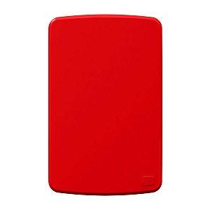 Placa 4x2 Cega Vermelha Compose Weg
