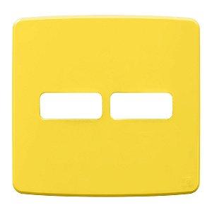 Placa 4x4 2 Posiçoes Amarela Compose Weg