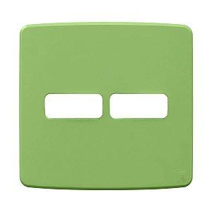 Placa 4x4 2 Posiçoes Verde Compose Weg