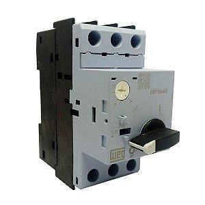 Disjuntor Motor Weg MPW40 Ajuste 10-16A