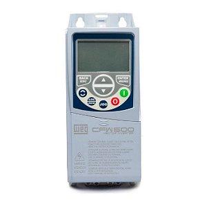 Inversor de Frequência Weg CFW500 2cv 7A 220V + Plug-in IOS
