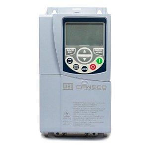 Inversor Frequência Weg CFW500 5cv 10A 380V + Plug-in IOS
