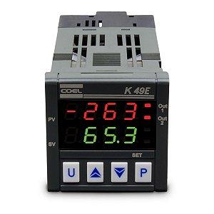 Controlador de Temperatura Coel K49E 100-240Vca
