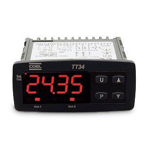 Temporizador Digital TT34 100-240Vca Coel