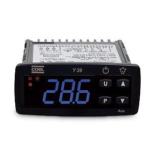 Controlador de Temperatura Coel Y39 100-240Vca Freezer Azul