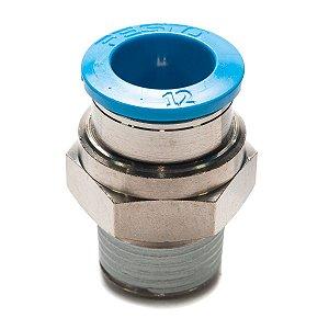 Conexao Pneumatica Engate Rapido Festo Rosca 3/8 x 12mm