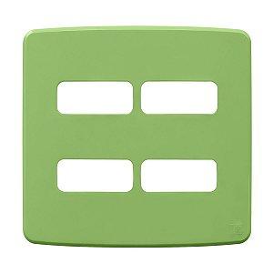 Placa 4x4 4 Posiçoes Compose Verde Weg