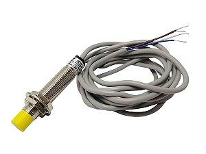 Sensor Indutivo LM12-3004NC Não Faceado 6-36Vcc NPN NA+NF