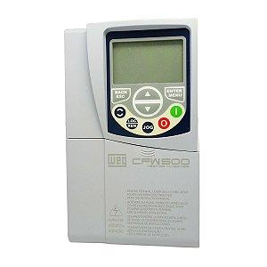 Inversor de Frequencia Weg CFW500 Tri 5CV 220V 16A S/P