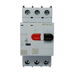 Disjuntor Motor Weg MPW18i Terminal Parafuso 18A