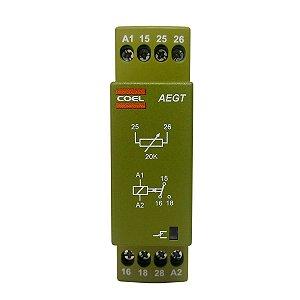 Rele Temporizador Coel AEGT 94-240Vca 15min