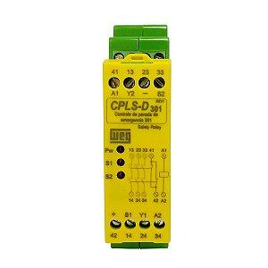 Controle Parada de Emergência Weg CPLS-D301 24Vcc