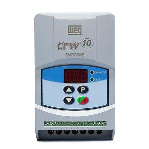 Inversor de Frequencia Weg CFW10 0,5CV 127V 2,6A Standard