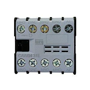 Mini Contator CAW04 110V 6A Weg