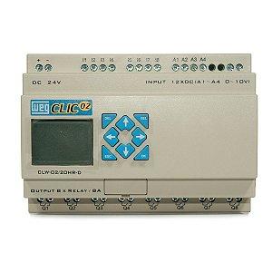 Controlador CLP Clic02 CLW-02/20HR-D 3 Weg