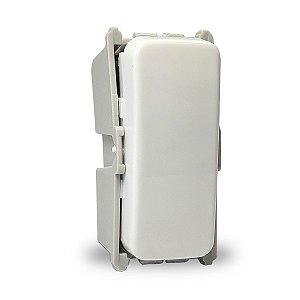 Módulo Interruptor Simples Weg Composé 10A 250VCA Cor Branco