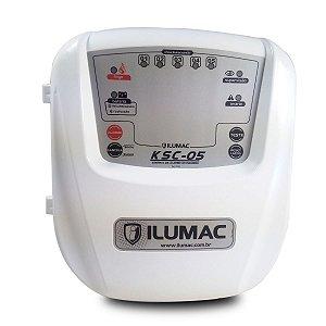Central Alarme de Incêndio Convencional KSC-05 Ilumac 24VCC