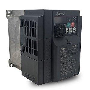 Inversor de Frequência Mitsubishi D700 2,2A 1CV 440V
