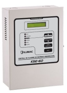 Central Alarme de Incêndio Endereçavel Compacta KSE60 Ilumac